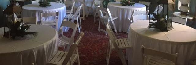 For any occasion, we can provide beautiful seating inside or outside.
